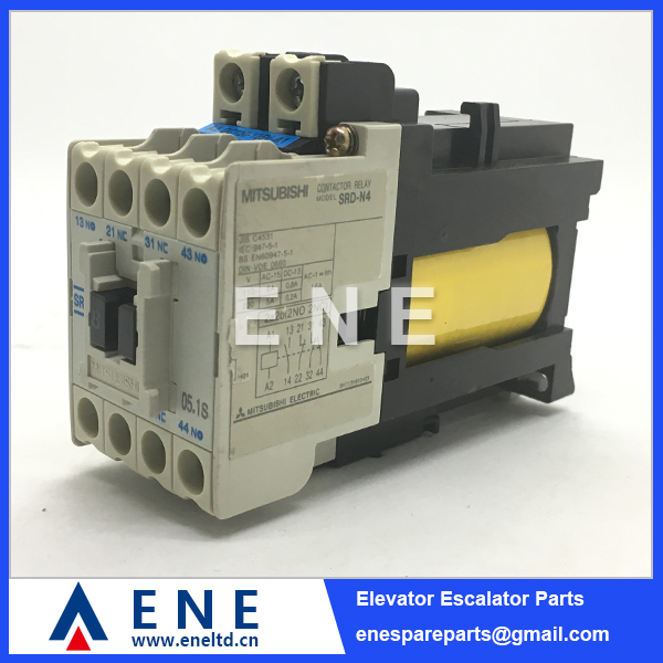 Mitsubishi S-N125 Contactor 3P 150A With Two Auxiliary Contacts Coil 24VAC NEW!!